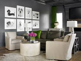 family rooms with grey walls