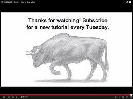 как нарисовать быка карандашом поэтапно
