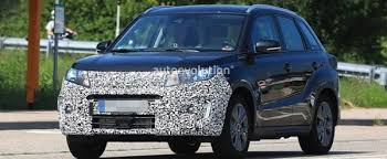 2018 suzuki vitara. wonderful 2018 2018 suzuki vitara facelift spied has blocked off grille for suzuki vitara