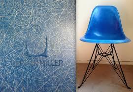 eames eiffel fiberglass side chair. eames blue eiffel vintage herman miller fiberglass side shell chair on black eiffel tower base super eames t