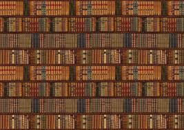 details about library bookcase shelf shelves old books photo wallpaper wall mural 335x236cm