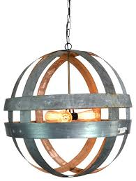 atom wine barrel chandelier chandeliers