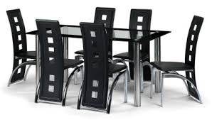 prices furniture on your price furniture co uk brescia black faux leather chrome and black and chrome furniture