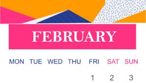 Calendar Template For Word Free February 2019 Printable Calendar Word Pdf With Holidays