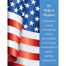 Pledge Of Allegiance Say It Chart