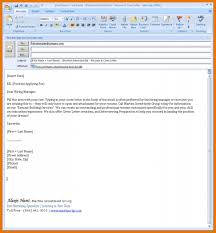 Email Resume Email Letter Format Attachment New Email Resume Content For 2