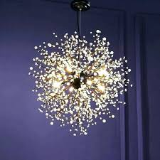 disco ball chandelier idea or post crystal
