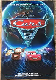 original cars movie poster. Delighful Original This Is An Auction For A BRAND NEWUNUSED Near Mint Condition Double Sided  ORIGINAL International English Version 1 Sheet Poster The Movie CARS 2 And Original Cars Movie Poster