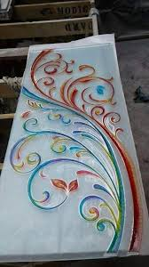 designer glass aakash glass colour etching art photos vaishali nagar