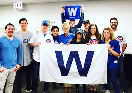 entire office decked. CGI Chicago Office Decked Out To Support The Cubs In World Series!! - Entire L