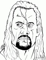 Small Picture Wwe Coloring Pages Cm Punk Coloring Home