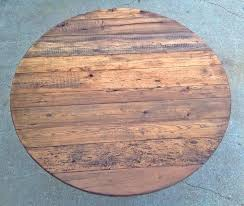 round wooden table top this is a 5 round reclaimed wood table made with antique barn round wooden table top