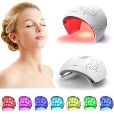 Led Light For Skin Us 154 58 40 Off Deciniee 7 Colors Pdt Photon Led Light Facial Mask Therapy Skin Rejuvenation Anti Wrinkle Acne Removal Skin Care Beauty Device In