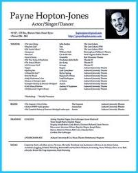 Pin By Resumejob On Resume Job Acting Resume Template Acting