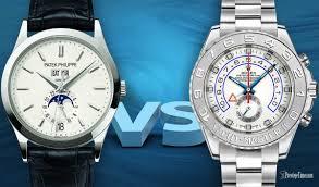 Vs Rolex Philippe Is Watches Best Patek Which