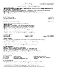 Mba Resume Objective Mba Resume Objective Savebtsaco 5