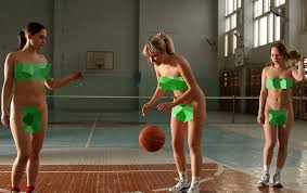 Naked teens doing sports
