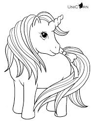 Small Picture Cute Unicorn Coloring Pages GetColoringPagescom