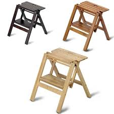 wooden step stool bibli 2