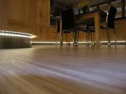 floor lighting led. Sensio Warm White Viva LED Flexible Strip Lighting Mounted On Plinth. Floor Led