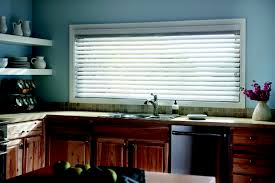 Blinds For Kitchen Windows Faux Wood Blinds Blinds Window Treatments The Home Depot