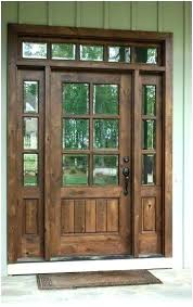inch front door knotty alder craftsman entry with side custom fiberglass style sidelights x d