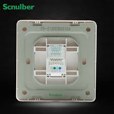 flush type white 1 gang telephone 4 wire 4p rj11 wall switch flush type white 1 gang telephone 4 wire 4p rj11 wall switch socket outlet in switches from home improvement on aliexpress com alibaba group