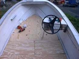 how to repair a boat s fibergl floor