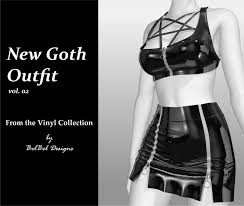 Outfit Creator With Your Own Clothes New Goth Outfit Vol 02 Vinyl Collecion