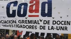 Huelga docente en la UNR: Coad rechaza la oferta y vuelve la paro. -  Noticias - El portal de Gaboto al mundo.
