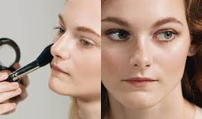 on video demonstrate glowing skin