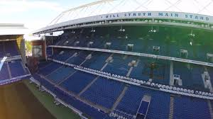 Drones Eye View Of Ibrox
