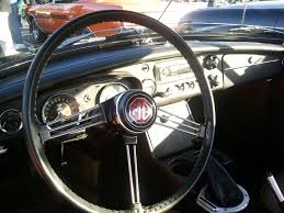 mgb leather steering wheel cover