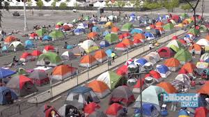 Citi Field Seating Chart Concert Bts Bts Fans Camp Out Ahead Of Citi Field Show Billboard News