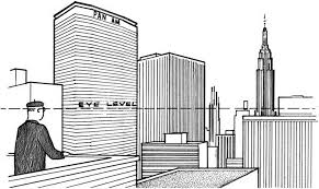 Simple Perspective Drawings Of Buildings Drawing N For Modern Design