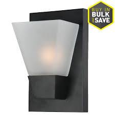 cheap sconce lighting. Portfolio 5.52-in W 1-Light Pocket Wall Sconce Cheap Lighting O