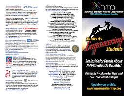 Pamphlet And Brochure Membership Brochure Pamphlet Nsna