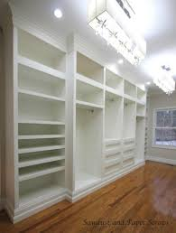 amazing built in shelves closet remodelaholic home sweet home on a budget built ins
