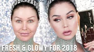 fresh and simple everyday makeup tutorial 2018