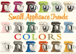 Retro Kitchen Small Appliances Small Appliance Trends Spicing Up Kitchens With Color Style