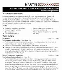 Full Charge Bookkeeper Job Description Resume Duties For This ...