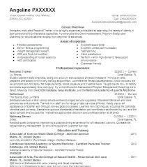 Resume For Personal Trainer Interesting Software Trainer Resume Thewhyfactorco