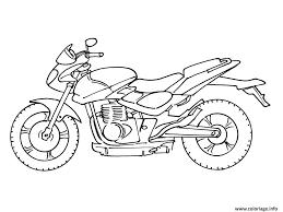 Coloriage Moto Facile 37 Jecolorie Com