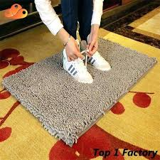 cotton bath rug non slip microfiber mat bathroom rugs sets