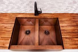 undermount farmhouse sink