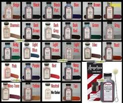Details About Angelus Suede Nubuck Dye Dressing 27 Colors 3 Oz With Applicator 1 Bottle