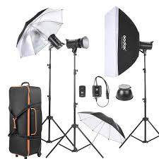 Godox Light Us 488 0 Godox De300 3 300ws Studio Photo Strobe Flash Light Kit With Stand Softbox Reflector Umbrella Soft Umbrella Flash Trigger Shade In Photo