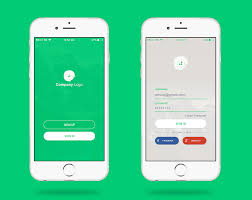 Iphone Form Design Login Page Design For Ios Application Login Page Design