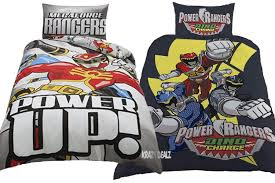 power rangers dino charge duvet set megaforce