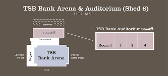 Tsb Arena Auditorium Shed 6 Venues Wellington Nz